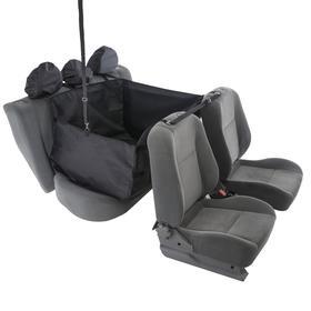 Гамак для перевозки животных, на 2 сидения, молния, 145х165 см, ПВХ 600, поролон