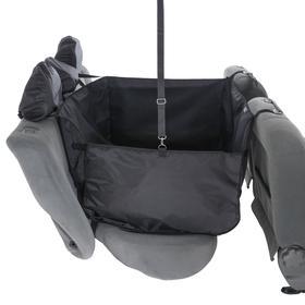 Гамак для перевозки животных, на 2 сиденья, молния, 145х165 см, ПВХ 600 поролон - фото 7400027