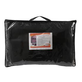 Гамак для перевозки животных, на 2 сиденья, молния, 145х165 см, ПВХ 600 поролон - фото 7400031