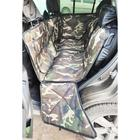 Автогамак-трансформер для перевозки крупных собак 20+ кг, 145х165 см, камуфляж, поролон