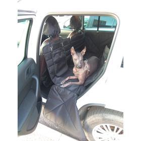 Автогамак-трансформер для перевозки крупных собак 20+ кг, 145х165 см, черный, ПВХ600   486932