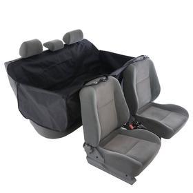 Гамак для перевозки животных, премиум 2 слоя, 145х165 см, чёрный +сумка