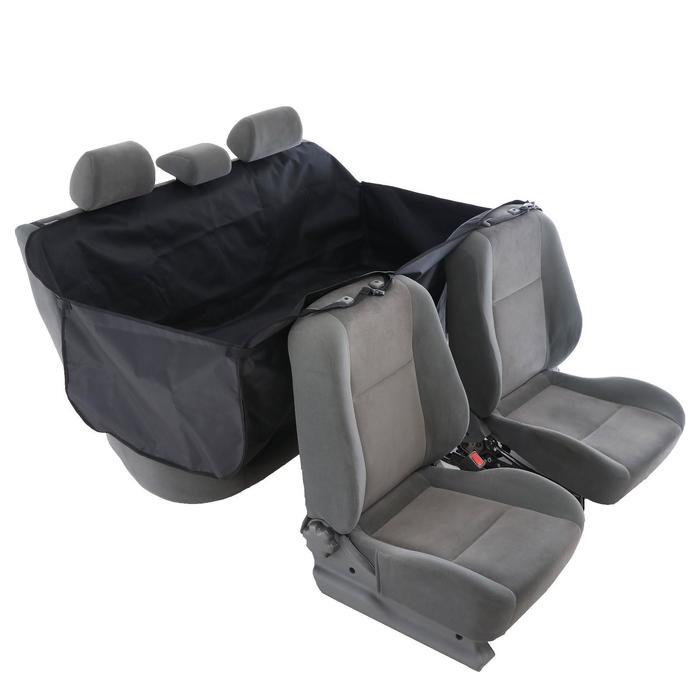 Гамак для перевозки животных, премиум 2 слоя, 145х165 см, чёрный +сумка - фото 189309