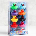 Набор  игрушек для купания «Уточки - цифры», 10 шт - фото 105534234