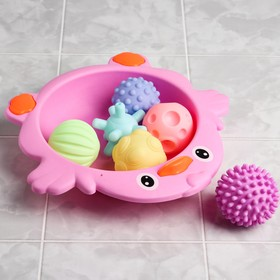 """A set of bath toys """"Chicken filling"""","""