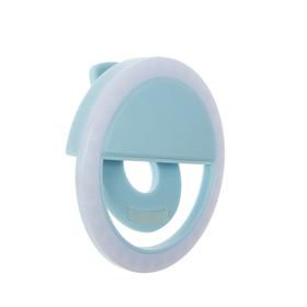 Вспышка для селфи RK-12, световое кольцо, голубая Ош