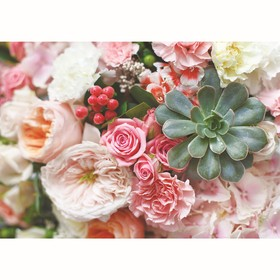 "Фотообои ""Цветы"", 200х140 см, 130 г/м"