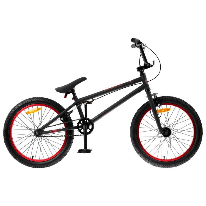 """Велосипед 20"""" Stark Madness BMX 1, 2019, цвет чёрный/красный"""