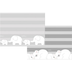 Двухсторонний коврик Prime Living «Коалы/Слоники за хвостики», 180x200x1 см