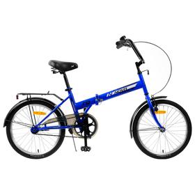 """Велосипед 20"""" Novatrack TG30, цвет синий"""