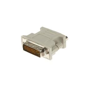 Адаптер Ritmix RCC-070, DVI-M-VGA (15F), белый Ош