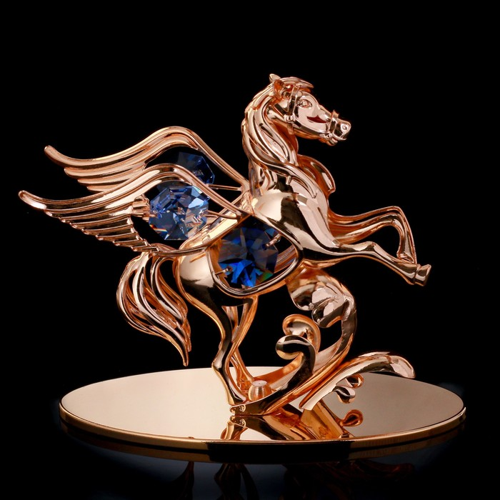 "Сувенир с кристаллами Swarovski ""Пегас"" 10х9,2 см"