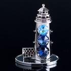 "Сувенир с кристаллами Swarovski ""Маяк"" 8,7х6,3 см - фото 487805"
