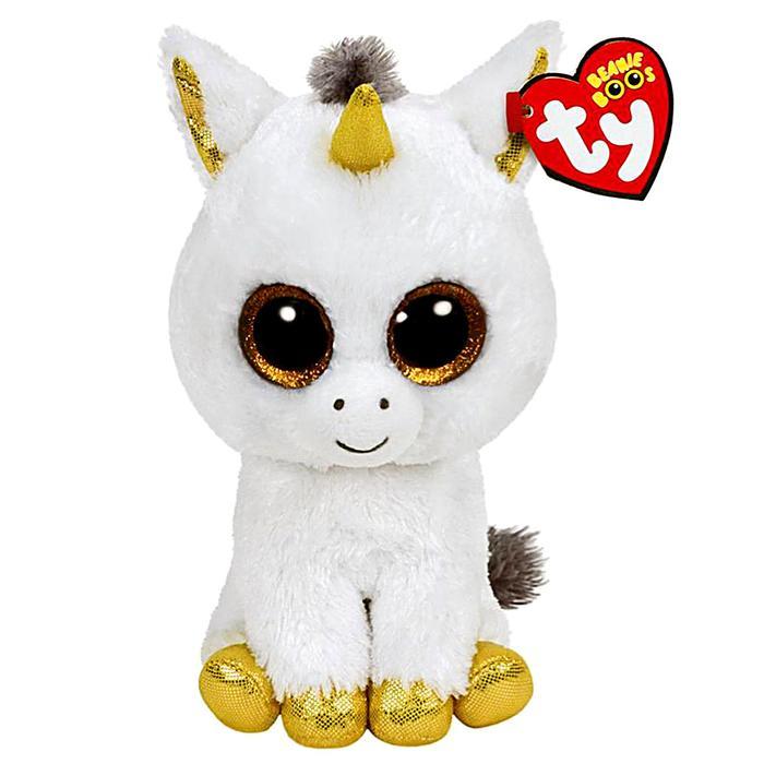 Мягкая игрушка «Единорог» Pegasus, цвет белый, 40 см
