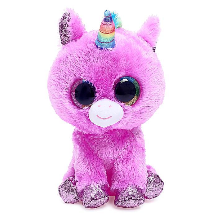 Мягкая игрушка «Единорог» Rosette, цвет розовый, 25 см