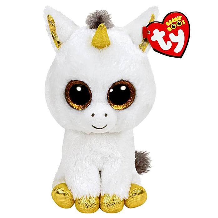 Мягкая игрушка «Единорог» Pegasus, цвет белый, 25 см