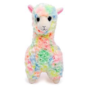 Мягкая игрушка «Лама» Lola, разноцветная, 25 см