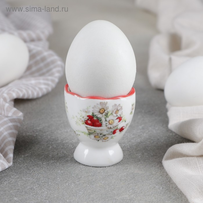 """Stand for eggs, """"Daisies"""", 4.5×5 cm"""