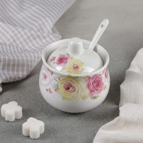 "Sugar bowl with spoon ""Helium"", 220 ml"