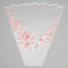 A packet of floral Cone of Odessa colored drawing MIX 45/50 red