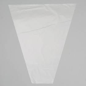A packet of floral Cone transparent/transparent 35/40