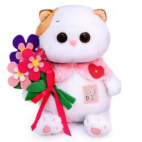 Мягкая игрушка «Ли-Ли BABY с цветами из фетра», 20 см