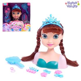 """HAPPY VALLEY Doll mannequin for hairstyling """"Fabulous image"""" SL-03040"""