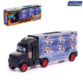 """AVTOGRAD Truck """"Carrier"""", 6 tractors, no SL-03396"""