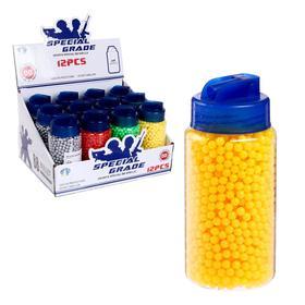 Пульки пластмассовые в банке, 2000 штук, МИКС