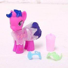 "Pony ""Fashionista"" with accessories, MIX"
