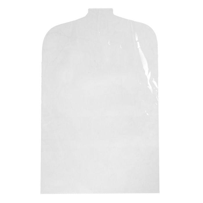 Чехол для одежды 52*120, 12 мкм, цвет прозрачный
