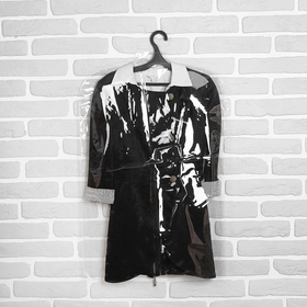 Чехол для одежды 52*150, 12 мкм, цвет прозрачный - фото 4640110