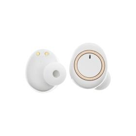 Наушники беспроводные LuazON VBT 1.20, DT-2, вакуумные, Bluetooth 5.0, 300 мАч бокс, белые