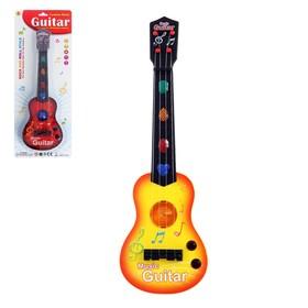 Гитара «Супервечеринка», световые и звуковые эффекты, игрушечная, МИКС