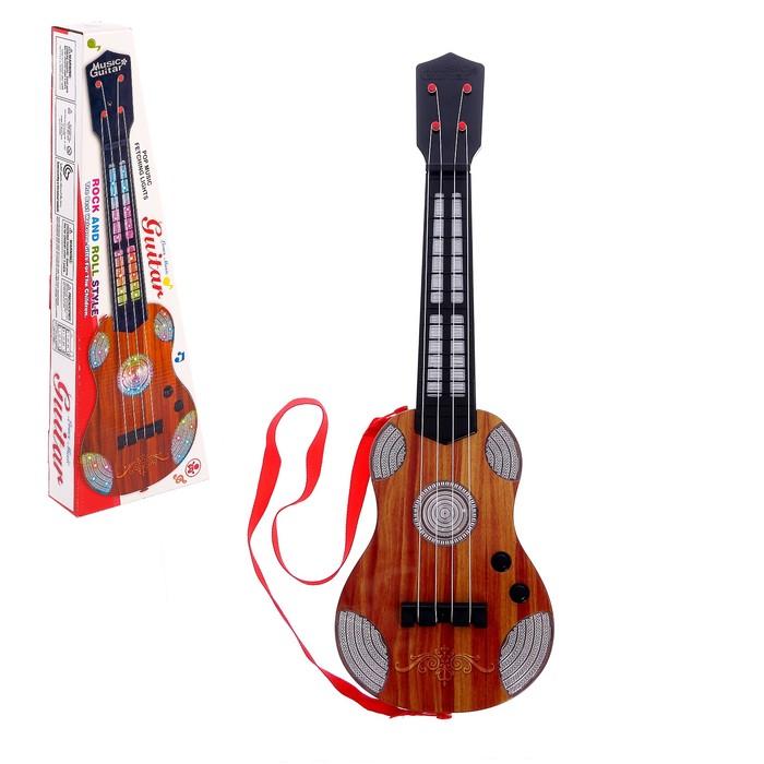 Гитара «Вечеринка», световые и звуковые эффекты