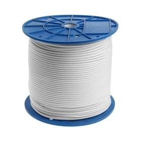 Шнур полиамид плотн.плет. 4.0 мм, 300 м, белый