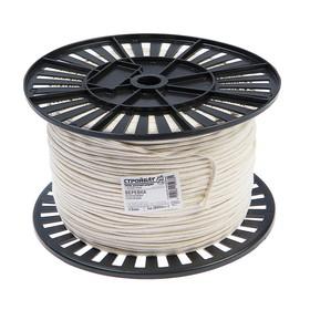 Веревка хлопковая плетеная 3.0 мм, 500 м, без покрытия