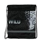 Мешок для обуви с карманом, 490 х 410 мм, светоотражающая полоса, СДС-57, Wind Animal