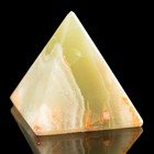 """Пирамида, 1"""", 3х2,5х2,5 см, оникс"""