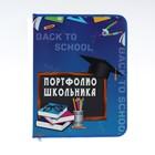 Портфолио папка на молнии, 345 х 260 х 25, 8 листов, «К школе готов»