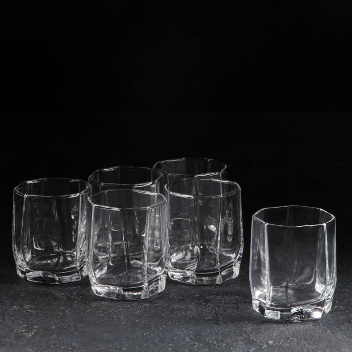"""Набор стаканов 210 мл """"Hisar. Виски"""", 6 шт"""