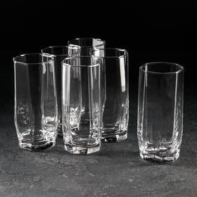 Набор стаканов «Hisar. Коктейль», 330 мл, 6 шт