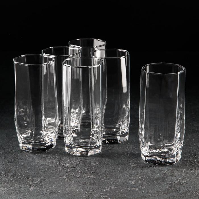 Набор стаканов «Hisar. Коктейль», 330 мл, 6 шт - фото 308063820