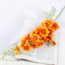 "Artificial flowers ""Clematis"" 6x80 cm orange"