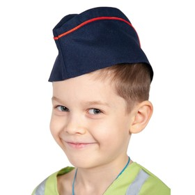Pilot of the Ministry of Internal Affairs blue with a red edging, children's