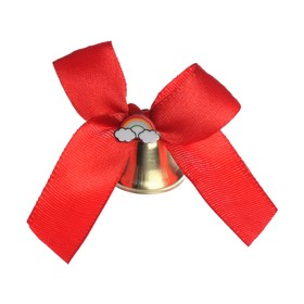 """A bell with an extra element of """"rainbow"""", diameter 2.6 cm"""