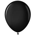"""Шар латексный 12"""", пастель, набор 100 шт., цвет чёрный - фото 953960"""