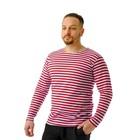 Men's vest, color red, R-R 48
