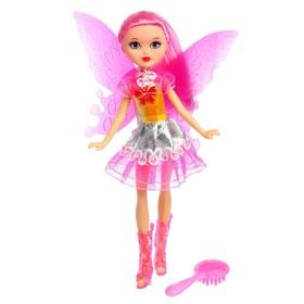 Кукла «Бабочка» в платье, с аксессуарами, МИКС Ош