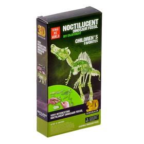 Пазл 3D «Спинозавр», светится в темноте